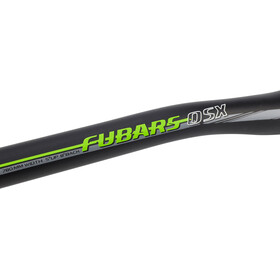 Chromag Fubars OSX Ohjaustanko Ø31,8mm DH, black/tight green